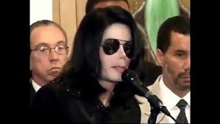 MICHAEL JACKSON'S SPEECH AGAINST RACISM IN HARLEM 2002