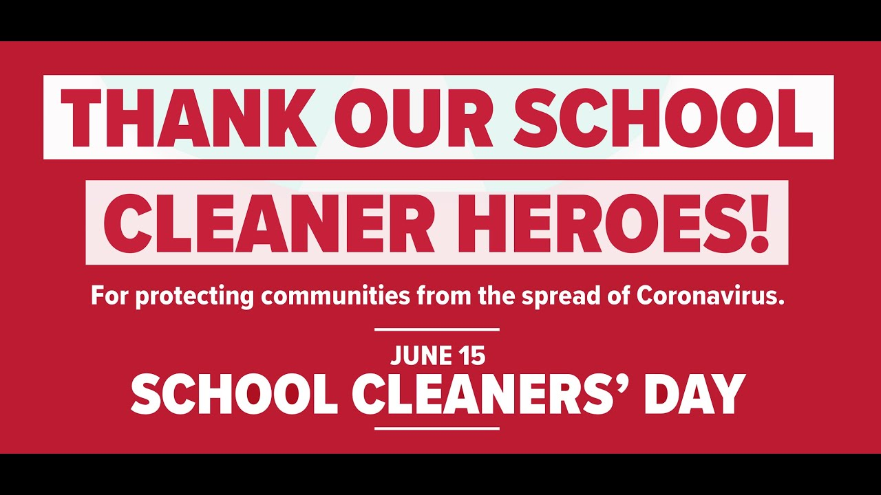 Cleaners Day Thank you message