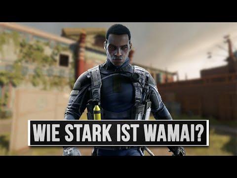 Wie stark ist Wamai? - Rainbow Six Siege