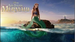 The Little Mermaid Live-Action TRAILER (2020) CONCEPT - MARINA RUY BARBOSA MOVIE