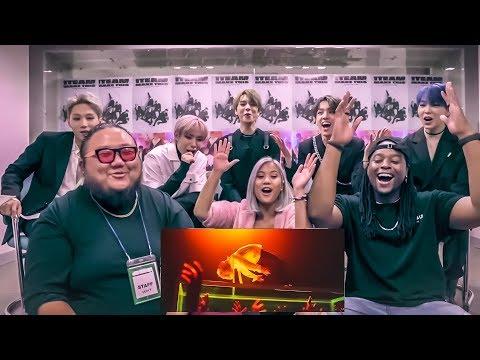 "I MET K - POP IDOLS 1TEAM!!! AND WE REACT TO""MAKE THIS""!!!"