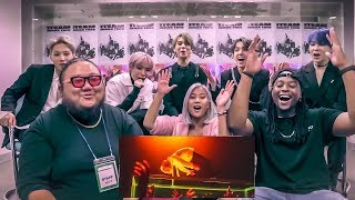 I MET K-POP IDOLS 1TEAM!!! AND WE REACT TOMAKE THIS!!!