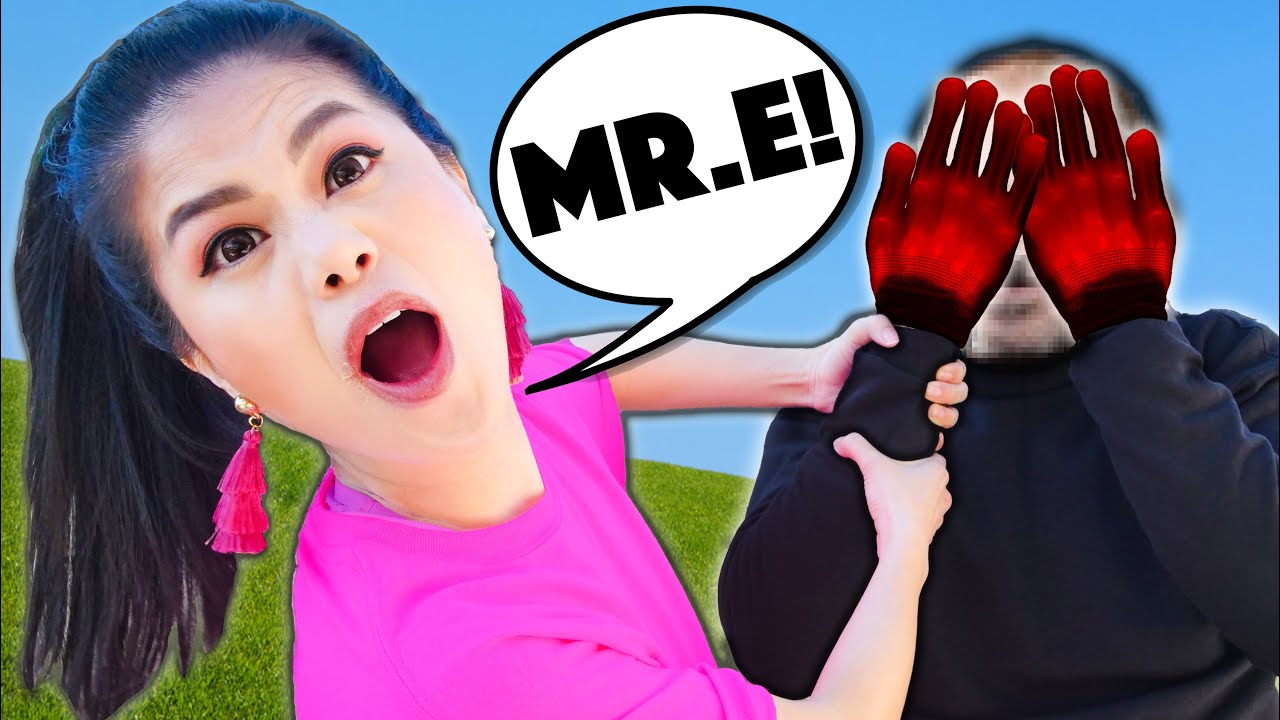 Unmasking Mr. E to Face Reveal he's a YouTuber Visiting Spy Ninjas Safe House in 24 Hour Challe