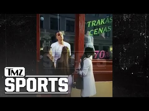 Kristaps Porzingis Left with Bloody Face After Fight in Latvia | TMZ Sports