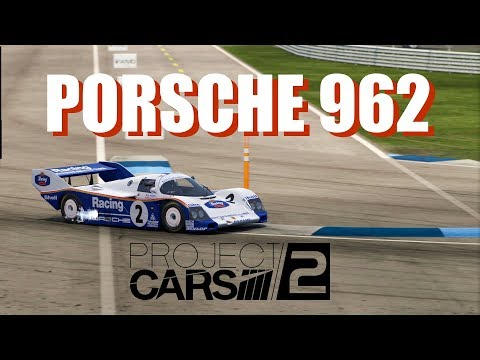 Porsche 962 @ Indianapolis Road Course 🇺🇸 in Project CARS 2. Oculus Rift VR iMac(!) Gameplay.