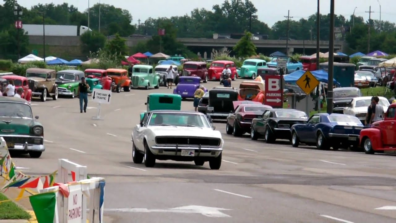 NSRA National Car Show Day In Louisville KY Pt Entrance YouTube - Car show louisville ky