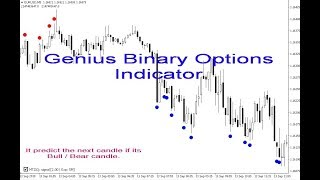 Genius Binary Options indicator for Metatrader 4 (MT4 ) + Trading history in real account