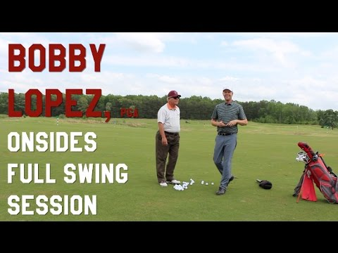 How to make a FULL SWING with Bobby Lopez, PGA