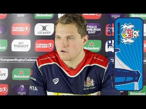 Robinson Talks To Press After Bath Loss