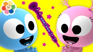 Laughing With Funny GooGoo & GaaGaa Baby | Oboe Music for Babies | Learn Musical Instruments Sounds
