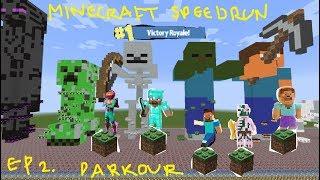 Minecraft Speedrun Ep. Two (parkour episode)