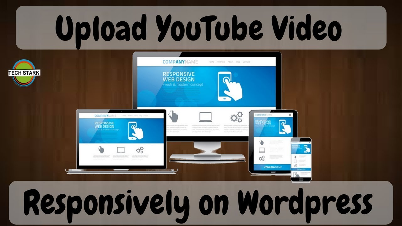How To Make YouTube Embed Video Responsive for WordPress or any website    2018