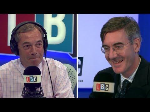 Farage Tells Jacob Rees Mogg to Run for Leadership