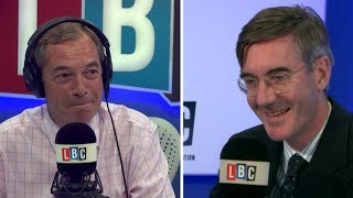 Farage Tells Jacob Rees Mogg to Run for Leadership
