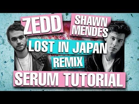 """Zedd Remix Shawn Mendes - """"Lost In Japan"""" Serum Tutorial / Remake [FREE DOWNLOADS]"""