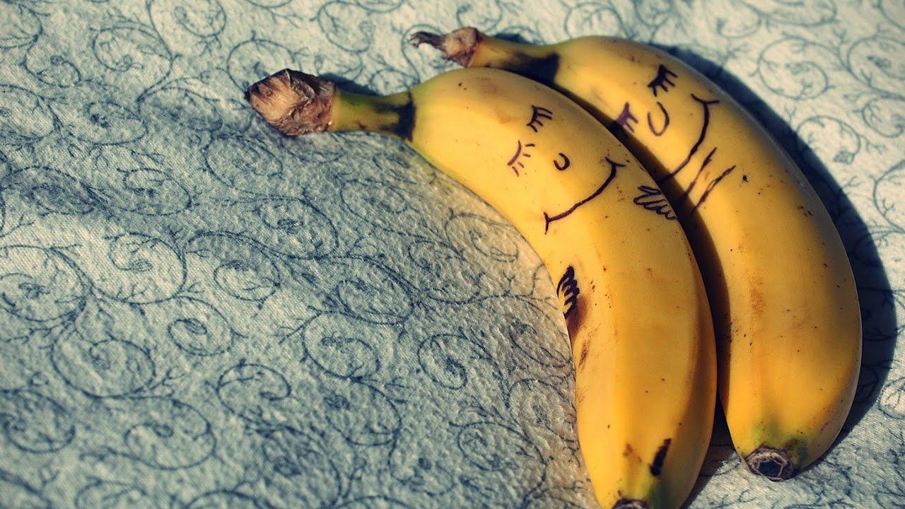 Картинки прикольные с бананами, приглашение