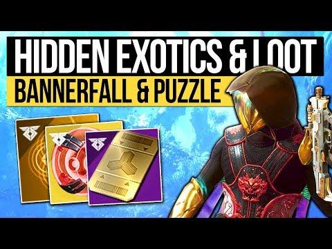 Destiny 2 News | RARE EXOTICS & MYSTERY QUEST! Bungie Troll, Bannerfall Map, New Materials & Rewards