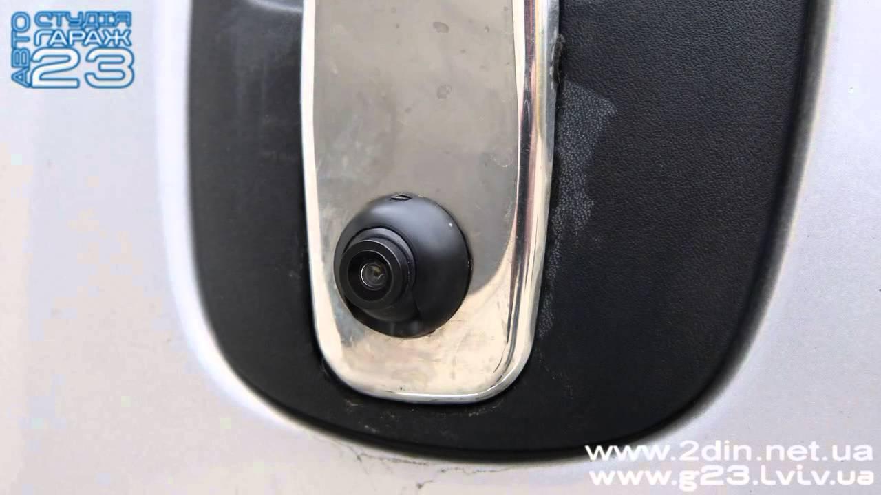 Камера заднего вида для Opel Vivaro/ Renault Trafic,/Nissan Primastar. Врезка в ручку багажника