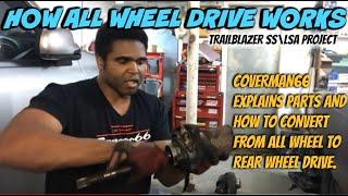 Converting to a Rear Wheel Drive Trailblazer SS