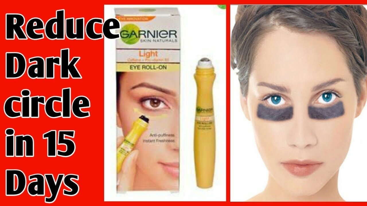 Garnier Eye Roll On For Deep Dark Circle S Puffiness Under Eye Treatment Full Review Youtube