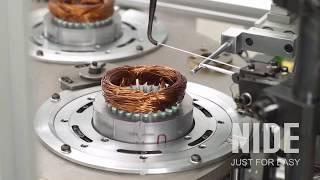Линия по производству автоматических стальных электродвигателей для стиральной машины