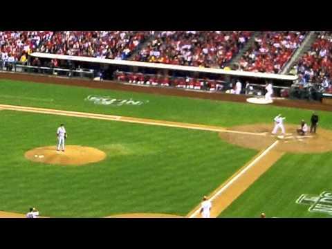 Raul Ibanez RBI Single vs Cardinals 2011 NLDS Game 2