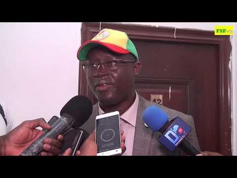 Me Augustin Senghor, interview d'après match Soudan vs Sénégal