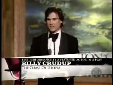 Billy Crudup wins 2007 Tony Award for Best Featured Actor in a Play