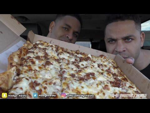 Pizza Flat Bread Chicken & Bacon Pizza