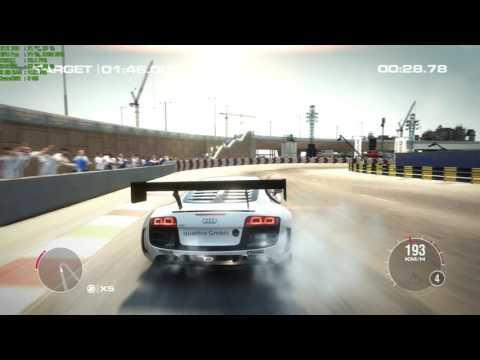 "Grid 2 Walkthrough Part 110 - ""Vehicle Challenge: Audi R8 LMS Ultra"""