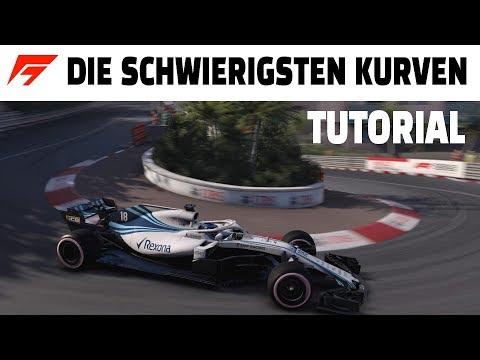 DIE 10 SCHWIERIGSTEN KURVENIN F1 GAMES   Tipps & Tricks Deutsch/German