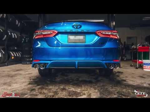 2018 camry xse 2 5 custom exhaust