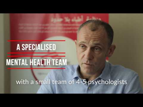 Jordan - Interview with Doctors Without Borders (MSF) Head of Mission for the Syrian Crisis