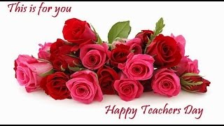 Happy Teacher's day quotes, wishes, Greetings, Whatsapp video for teacher