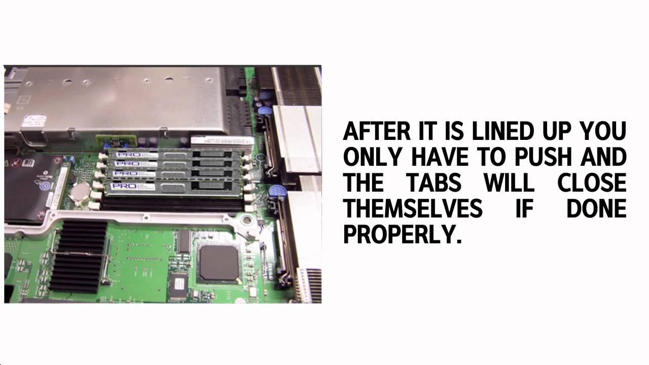 Dell PowerEdge 2950 Memory Upgrade & RAM Specs  YouTube