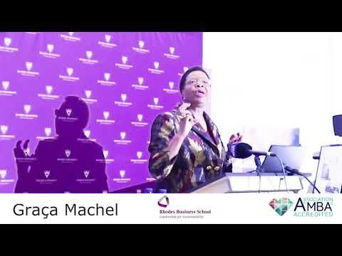 Graca Machel visits RBS: Thabo Makgoba Development Trust Lecture