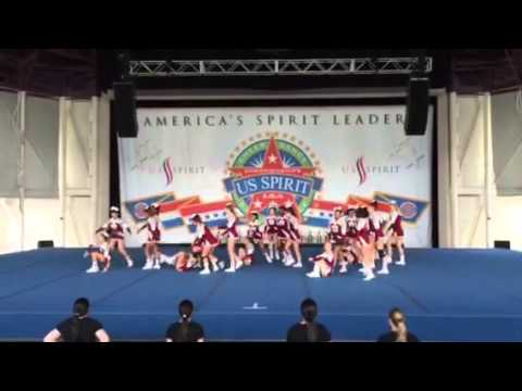 Bayonne HS Cheer Large non-tumbling at nationals