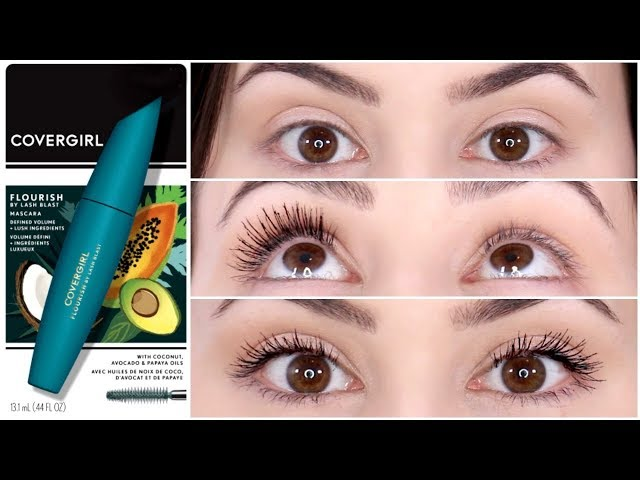 7e09c45d5e6 We Tried It: A Review Of CoverGirl's 'Flourish By Lash Blast' Mascara