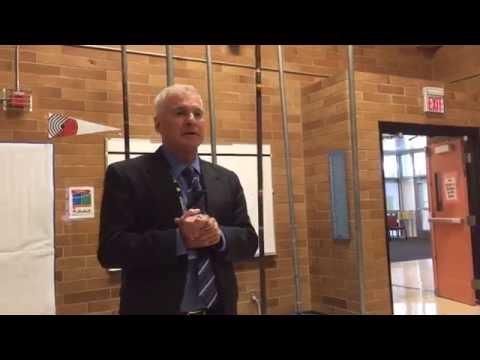 Beaverton School District superintendent visits Hiteon Elementary School