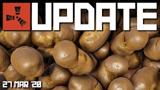 Dung, sprinklers, compost etc | Rust Update 27th March 2020