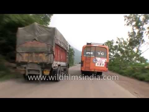 Driving from Dehni in Anandpur Sahib Tehsil to Bilaspur via NH21 - Part 2