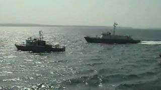 第九海上保安本部 石川県 合同訓練 6 不審船交戦