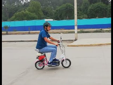 transformation bicycle to scooter bike 49cc