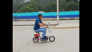 homemade scooter bike 49cc