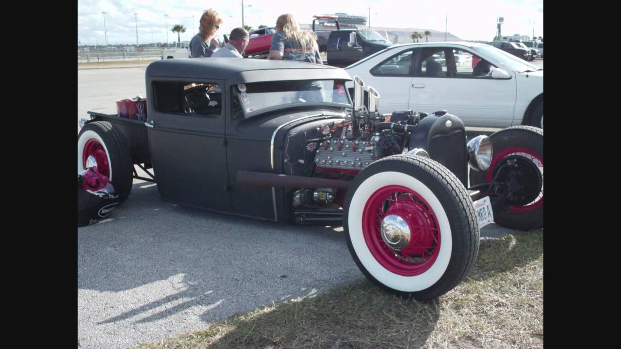 RAT RODS, JUNK RODS AND POTENTIAL AT THE 2010 TURKEY ROD RUN - YouTube