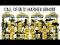 Call of Duty Special Forces Marines Armory Unofficial Lego Minifigures Building Blocks