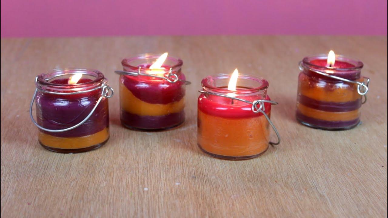 Como hacer velas para decorar como hacer velas - Como hacer velas ...
