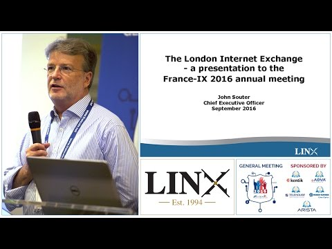 The London Internet Exchange LINX, by John Souter, LINX