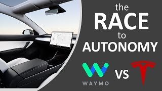 Tesla VS Waymo - Who Will Win the Race to Full Self Driving? + LiDAR VS Computer Vision
