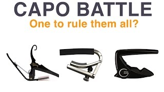 Kyser, Shubb and G7th Capo Review
